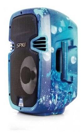 parlante kalley k-spk50bledcpa 50w azul parlante kall mk894
