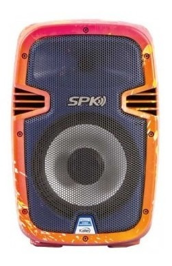 parlante kalley k-spk50bledcpr 50w rojo parlante kall mk931