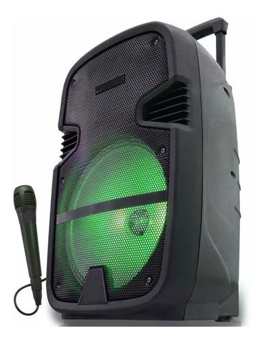 parlante kanji thunderx bluetooth rgb portátil / fm / 6000w