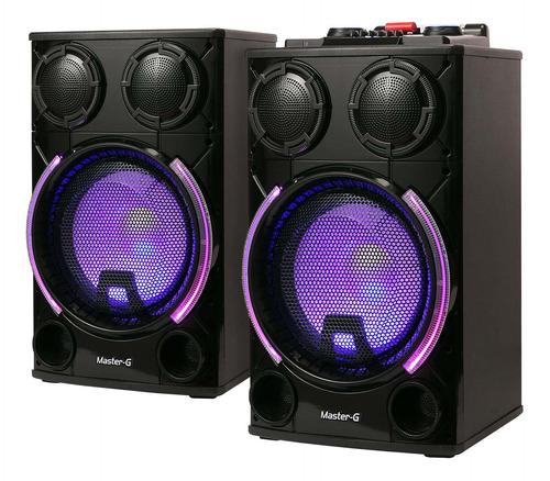 parlante karaoke bluetooth master g mgultraforce