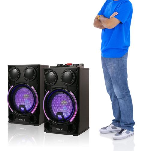 parlante karaoke bluetooth master g mgultraforcelii