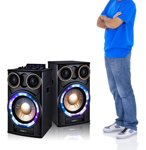 parlante karaoke bluetooth master g mgultrapro