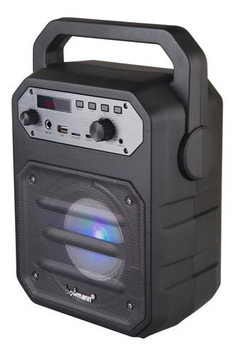 parlante karaoke bowmann bt+ microfono 21301 / fernapet