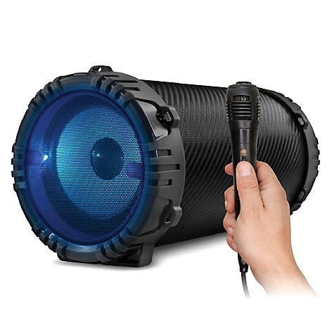 parlante karaoke microlab microfono bluetooth sd usb fm aux