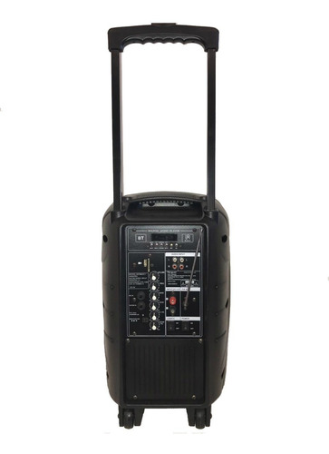 parlante karaoke portatil targus 10' bt usb radio mic inalam