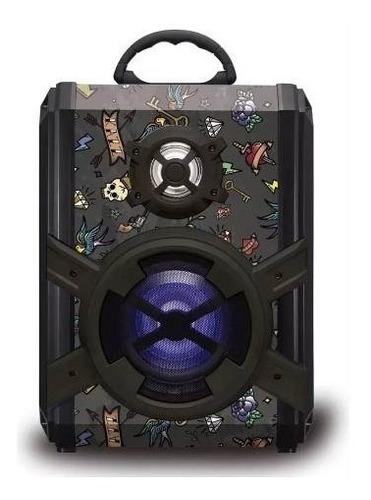 parlante kazz portatil survivor 20w radio bluetooth palermo