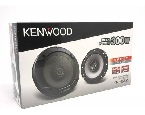 parlante kenwood kfc-1666s 300w 16 cm auto camioneta