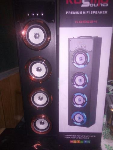 parlante kosmo sound 624 usb microsd jack radio