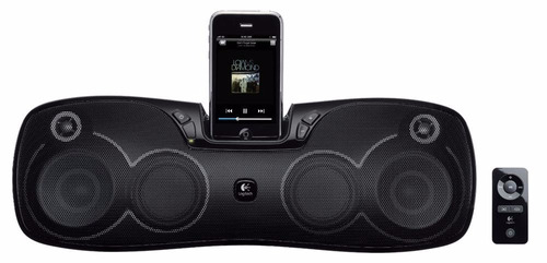 parlante logitech s715i dock ipod -  iphone