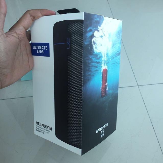 Parlante Logitech Ue Megaboom 40 Watts Bluetooth Wireless
