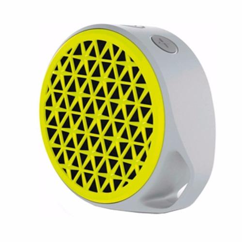parlante logitech x50 portátil amarillo , gris