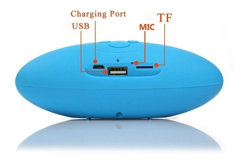 parlante mini bluetooth portatil recargablle usb micro sd