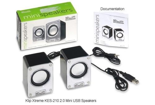 parlante mini speaker  klip xtreme kes-210