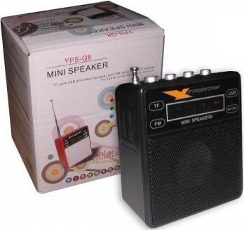 parlante mini xtreme 3w, mp3, radio fm, bateria litio