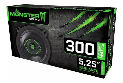 parlante monster m524 5   2v 300w
