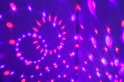 parlante mp3 luces sicodelicas audioritmica incluye usb