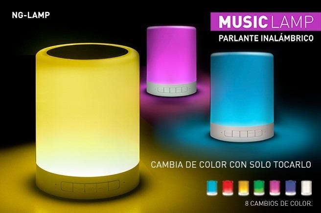 Parlante A 7 Colores Ng Función Noganet lamp Lámpara Cambia rCeQdBoxW