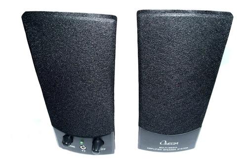 parlante omega sp-210 negro usb