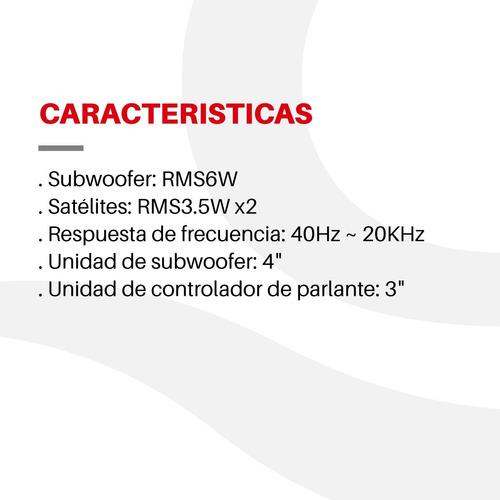 parlante overtech 2.1 ov-123a 200w mp3 bluetooth 13w rms