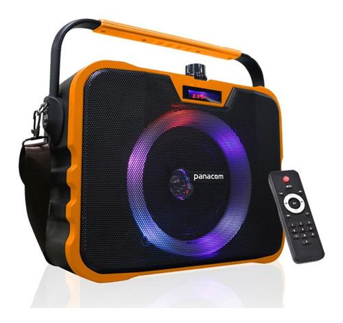 parlante panacom sp3080 bluetooth + karaoke control usb