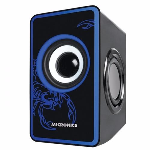 parlante para pc, tv, dvd, micronics scorpio 8w s600