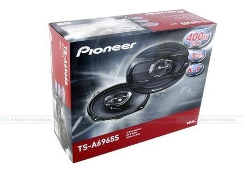 parlante pioneer ts-a6965s con parlantes 6x9 400w