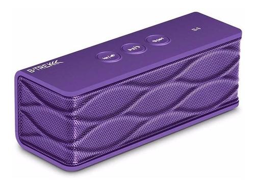 parlante portable bluetooth sentey b-trek s4 ls-4165 violeta