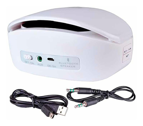 parlante portable bm208 bluetooth lifesoul violeta