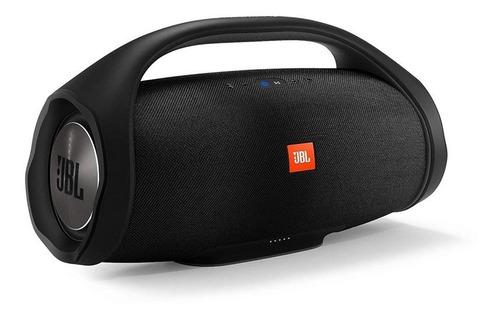 parlante portable jbl boombox bluetooth 2x30w color negro