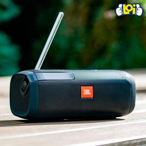 parlante portable jbl tuner fm bluetooth batería oferta loi