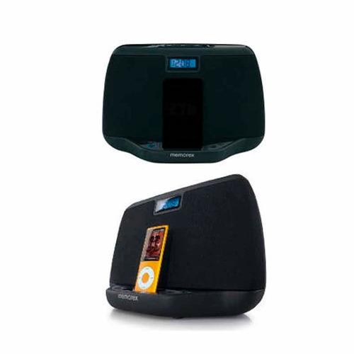 parlante portable memorex iphone/ipod 30pin negro