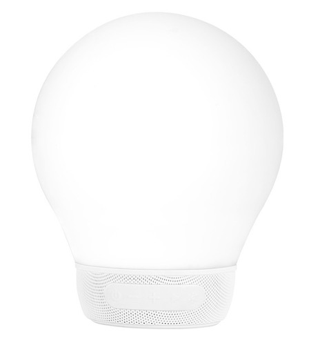 parlante portatil 5w divoom aurabulb luz color android ios