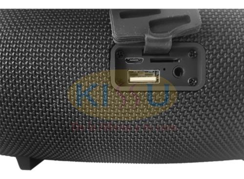 parlante portatil a prueba de agua bluetooth usb + cable aux