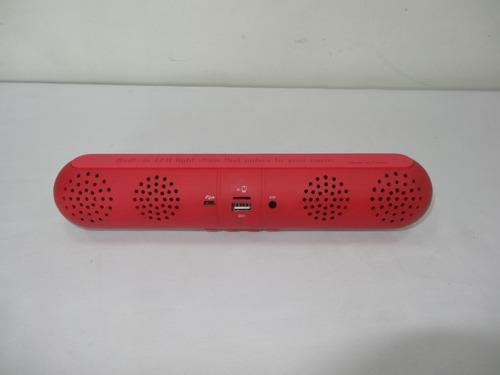 parlante portatil aibimy bluetooth , usb, aux, con cable