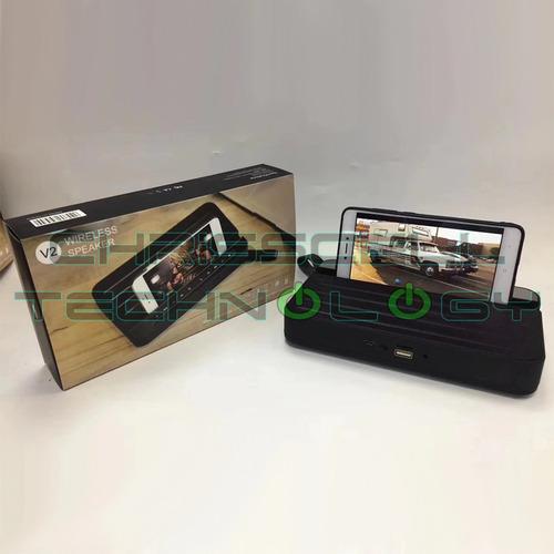 parlante portatil altavoz inalámbrico bluetooth usb-radio-mi