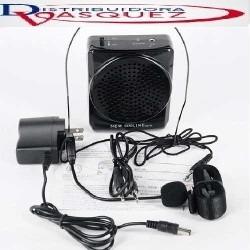 parlante portatil amplificador tipo diadema usb, sd, fm, aux
