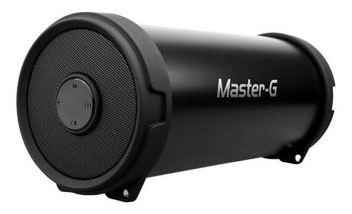 parlante portátil bazooka bluetooth master g negro