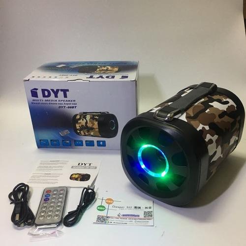 parlante portátil bluetooth 10w dyt66bt