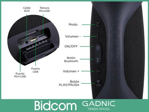 parlante portatil bluetooth android ios potenciado fidelidad