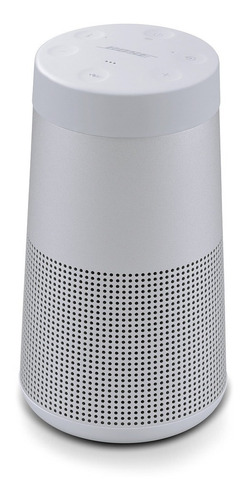 parlante portátil bluetooth bose soundlink revolve silver