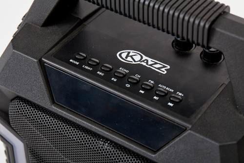 parlante portatil bluetooth cbateria kazz army soundgroup