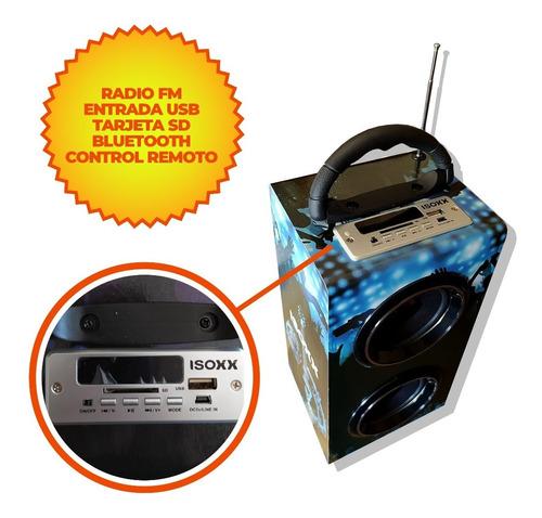 parlante portátil bluetooth con radio fm