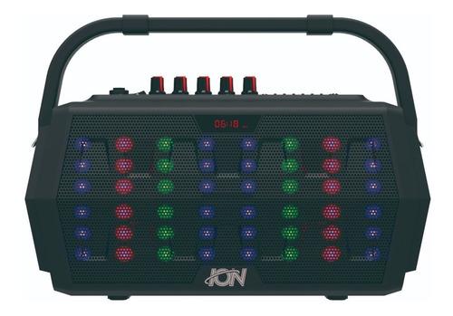 parlante portatil bluetooth ion kinetic usb radio 15w