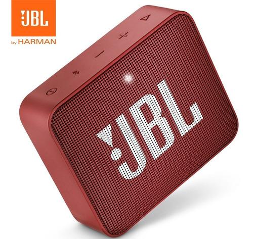 parlante portatil bluetooth jbl go 2 sellado / sumergible