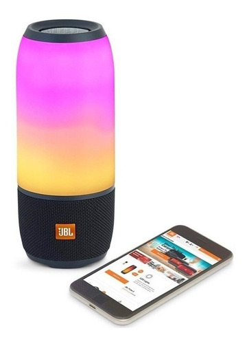 parlante portatil bluetooth jbl pulse 3 luces batería 101db