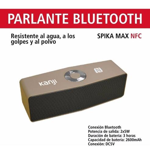parlante pórtatil bluetooth kanji spika max cod.2381