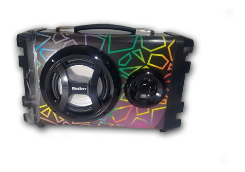 parlante portatil bluetooth karaoke 1800 wats  ps12