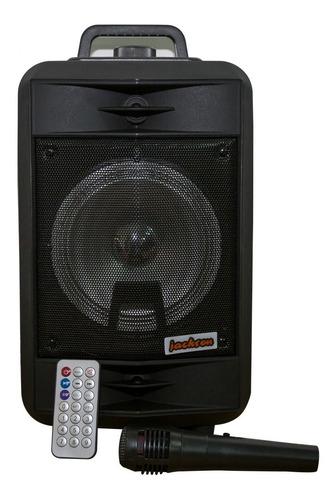 parlante portatil bluetooth luz led 1000w control remoto