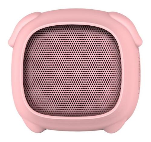 parlante portatil bluetooth noblex psb02pig forma de chancho