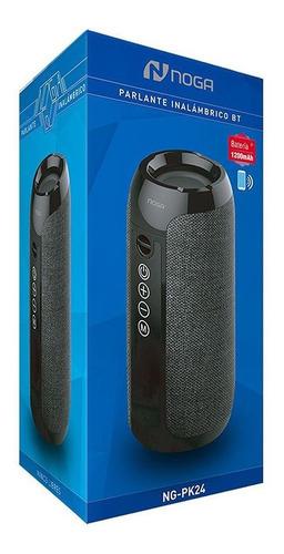 parlante portatil bluetooth noga pk24 manos libres 10w gtia